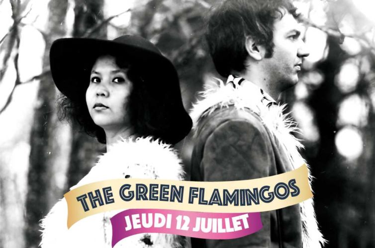 THE GREEN FLAMINGOS